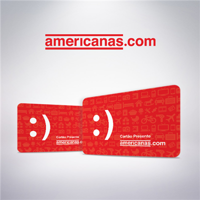 CARTAO PRESENTE AMERICANAS VIRTUAL - R$ 50,00