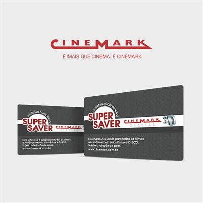 CINEMARK 3D INGRESSO - R$ 23,00