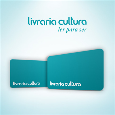 CARTÃO PRESENTE LIVRARIA CULTURA - R$ 50,00