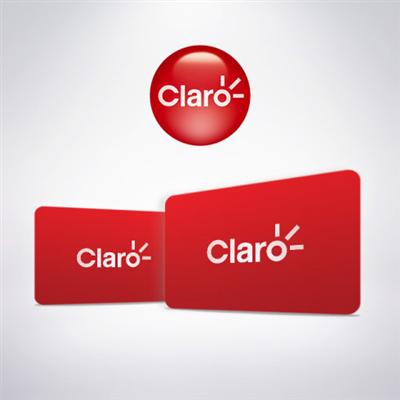 RECARGA DE TELEFONIA CELULAR- OPERADORA CLARO - R$ 50,00
