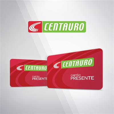 CARTÃO PRESENTE CENTAURO - R$ 50,00