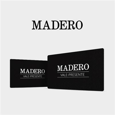 CARTÃO PRESENTE MADERO - R$ 100,00