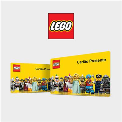 CARTÃO PRESENTE LEGO VIRTUAL
