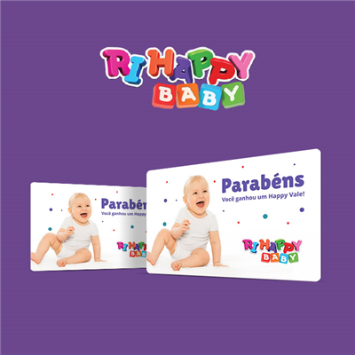 CARTÃO PRESENTE RI HAPPY BABY VIRTUAL