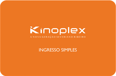 INGRESSO KINOPLEX PADRÃO (R$19,00)