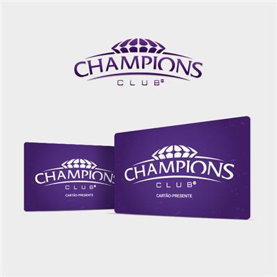 CARTÃO PRESENTE CHAMPIONS CLUB