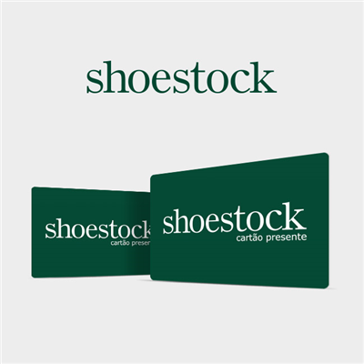 CARTÃO PRESENTE SHOESTOCK VIRTUAL