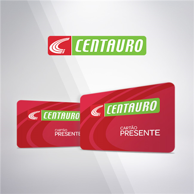 CARTAO PRESENTE CENTAURO VIRTUAL