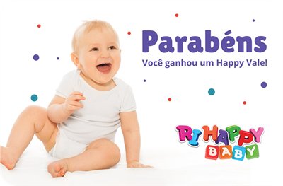 CARTÃO PRESENTE RI HAPPY BABY VIRTUAL (R$100,00)