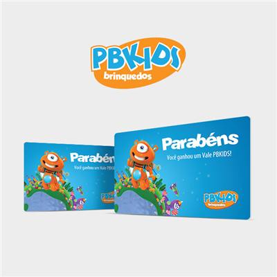 CARTÃO PRESENTE PB KIDS